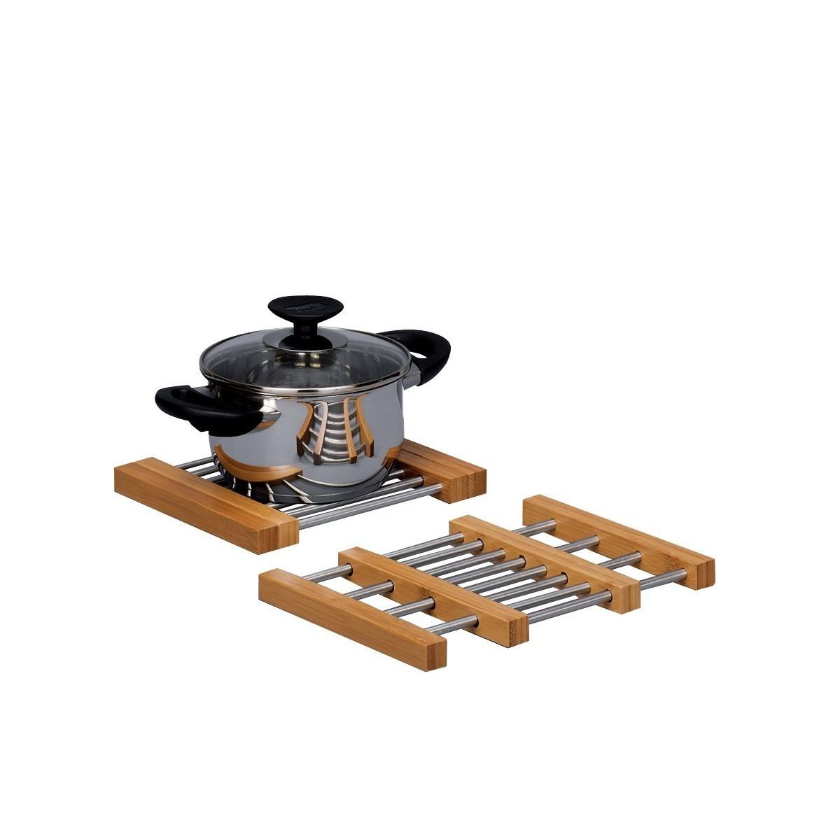 Подставка под горячееZeller пропитывает свою продукцию гармонией и новизной. Данная подставка создана специально для того, чтоб уберегать столешницы от высоких температур.<br>