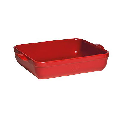 Форма для запекания прямоугольная 35*25,5см цвет: гранатEmile Henry - существующий с 1850 года бренд. Вся продукция Emile Henry высококачественная, разработанная с учетом новых кулинарных тенденций. При производстве посуды компания использует только природные материалы, что гарантирует здоровое приготовление пищи. Форма для запекания - отличный подарок каждой хозяйке.<br>