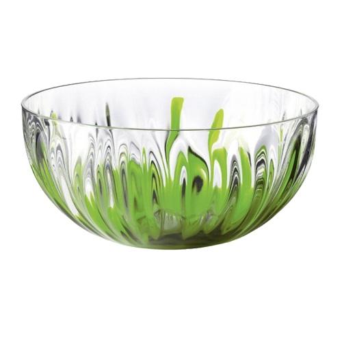 Салатник 15 см  зеленый IRISИтальянская компания Fratelli Guzzini, основаная в 1912 году, производит пластиковые аксесуары для дома и посуду. Салатник IRIS прозрачный и имеет круглую форму, что позволяет красиво сервировать салаты. Он удобен в быту и легок в уходе.<br>