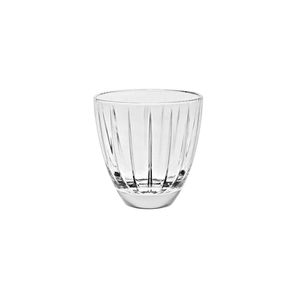Стакан для напитков ACCADEMIA 240 млОригинальный стакан итальянского  производителя Vidivi сделан из высококачественного стекла. Необычный дизайн и форма украсят любой интерьер. Он  отлично впишется в уже имеющуюся коллекцию вашей посуды или станет хорошим подарком для ваших друзей и близких.<br>