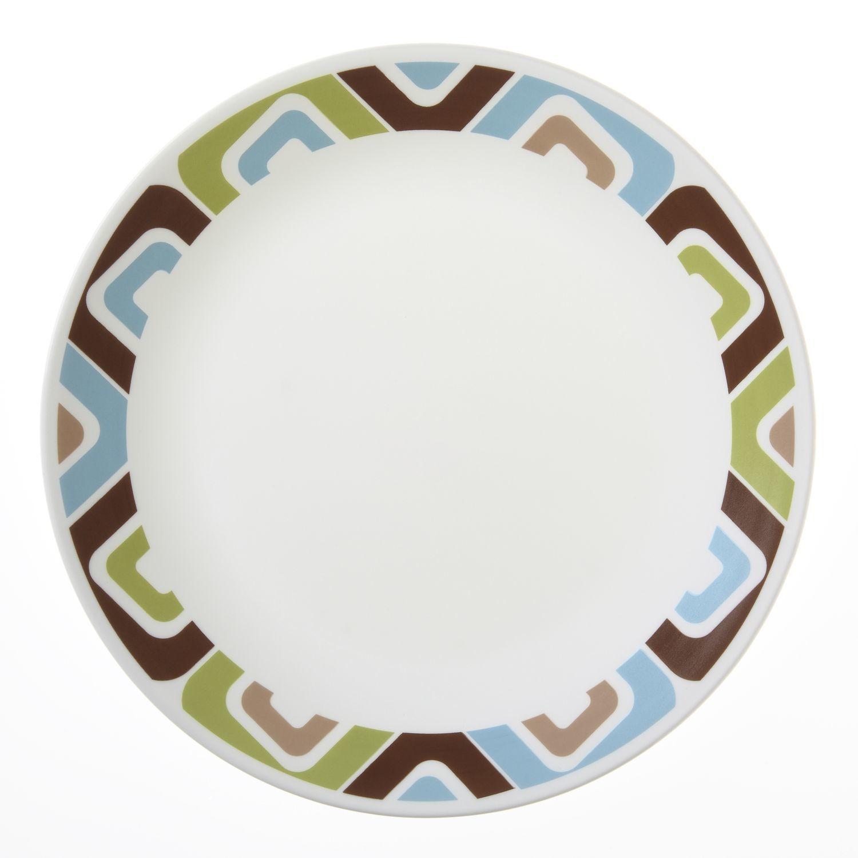 Тарелка обеденная Corelle Squared 26 см