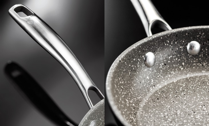 Сковорода 26 см Stellar Rocktanium