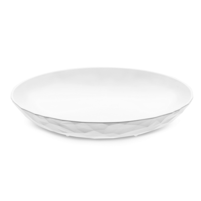 Тарелка суповая Club 22 см белая