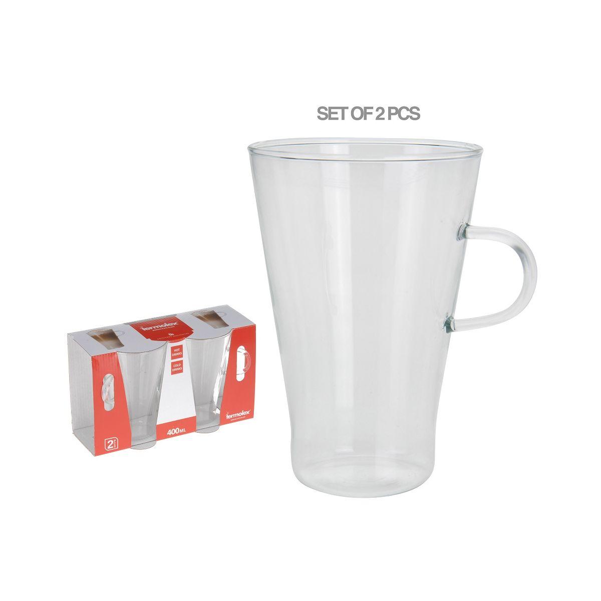 Набор кружек 2 шт. д/чая и кофе 400 млкружка для чая/ кофе, наб. 2 шт, об. 400 мл<br>