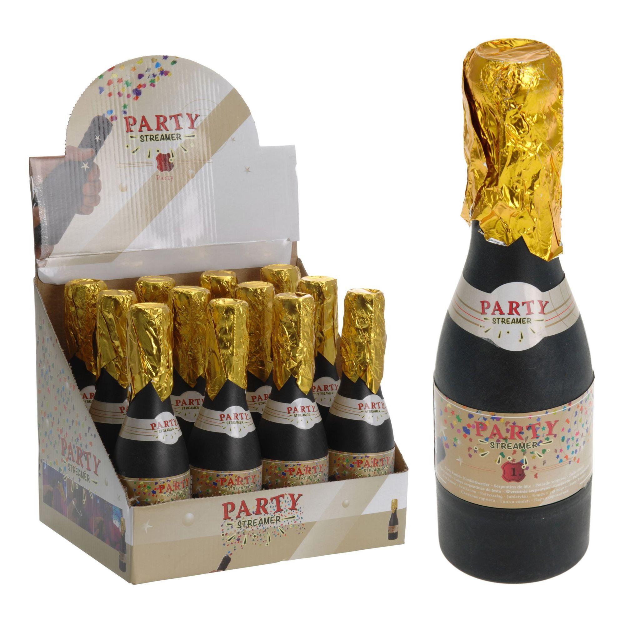Вечеринка хлопушка с серпантином Шампанское<br>