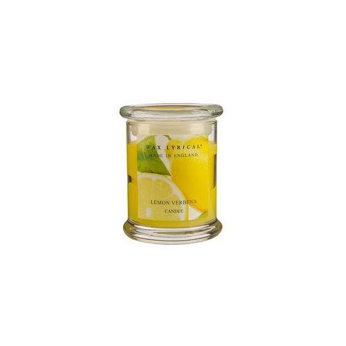 Свеча ароматическая в стекле Вербена лимонная большая 8х12х8 желтыйСвеча ароматическая в стекле Вербена лимонная большая от английской компании Wax Lyrical.  Уникальное средство для устранения неприятного запаха. Благодаря технологии Odouraze , которая находит молекулы неприятного запаха, окутывает их и полностью уничтожает. Придаст воздуху слегка терпкий, освежающий, с заметными цветочными аккордами аромат.<br>