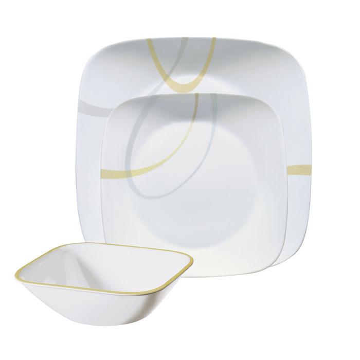 Набор посуды Corelle Modern Lines 12 предметов
