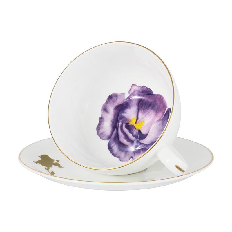 Пара чайная 250 мл Iris Anna Lafarg Emily Flowers