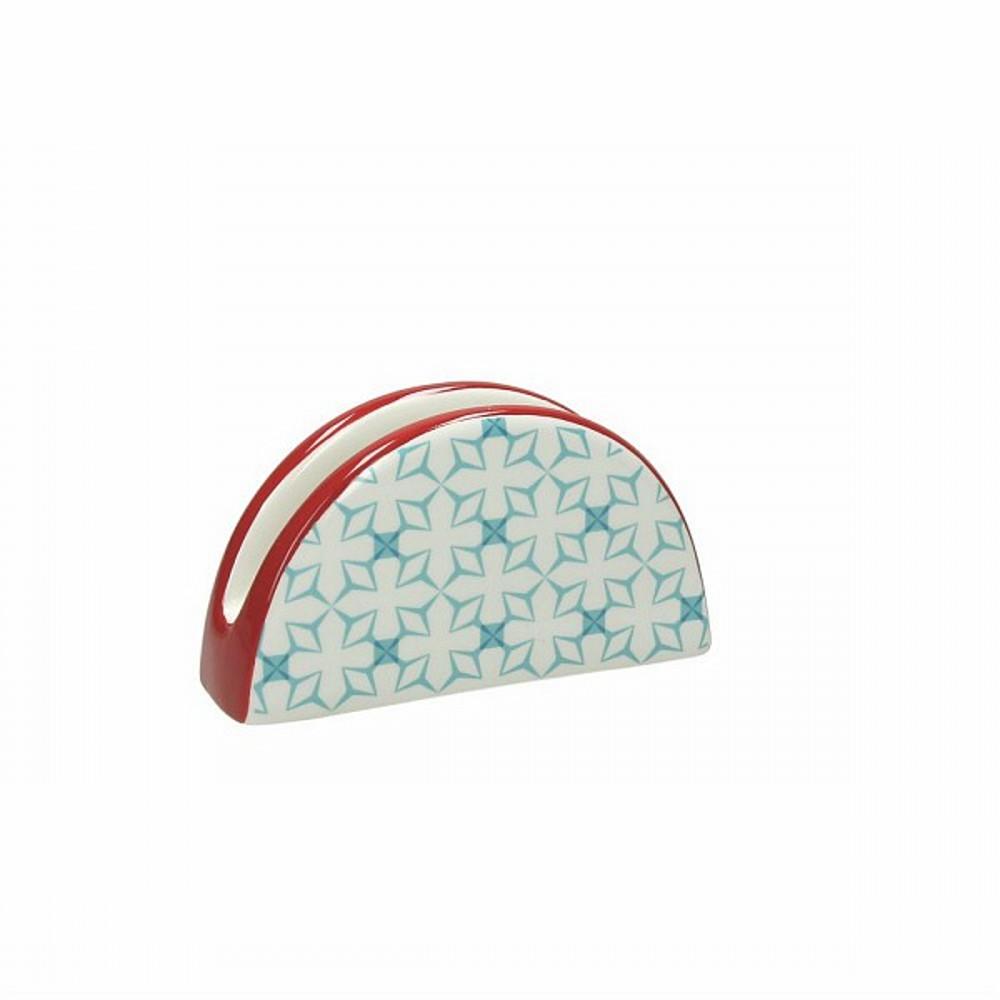 Подставка для салфеток DOLCE CA KUB AZПодставка под салфетки фирмы Tognana сделана из высококачественной керамики. Имея оригинальный дизайн и цветовую гамму, подставка отлично впишется в любой интерьер. Этотэлемент посуды является неотъемлемым на любой кухне.<br>