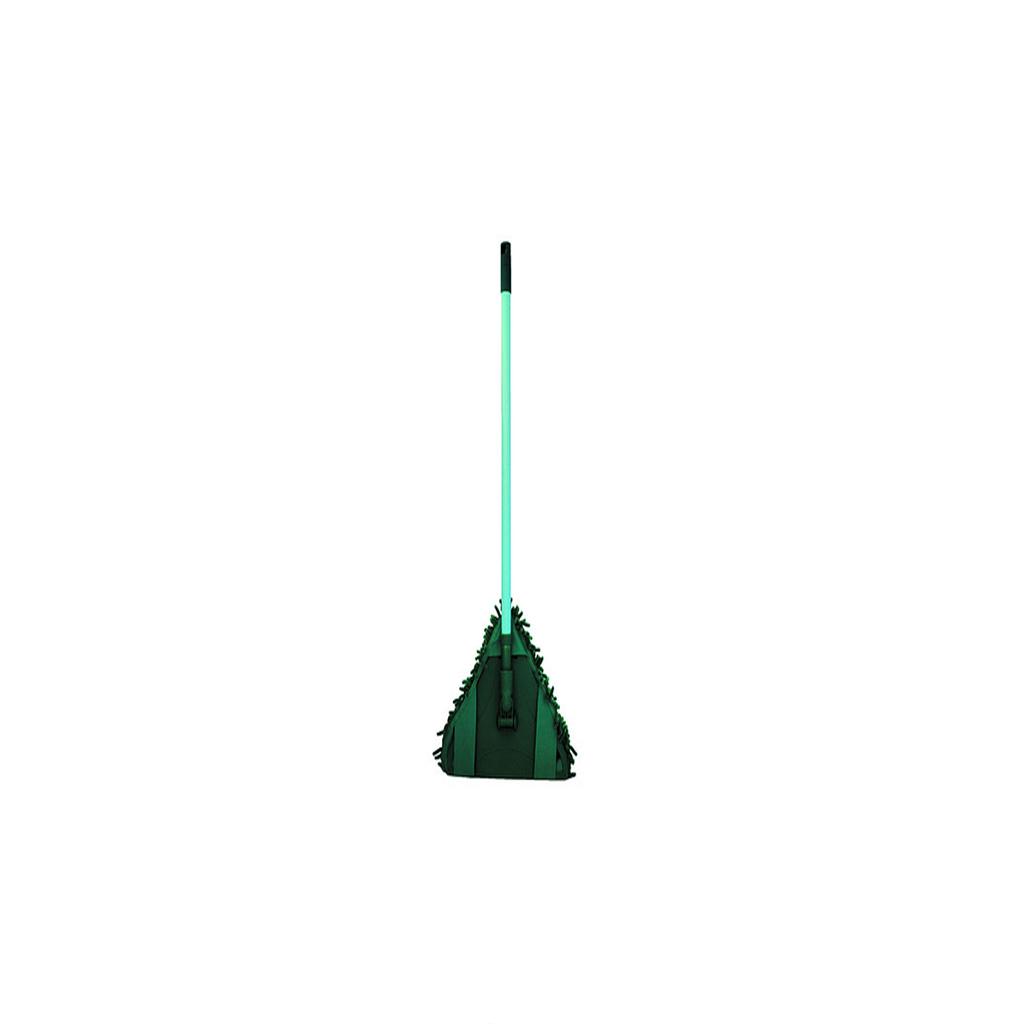 ШВАБРА КОМФОРТ ( треугольная)Компания Inter-Vion появилась на рынке в 1991 году. Сейчас она является одним из крупнейших предприятий по изготовлению косметической продукции и товаров для дома. Швабра Комфорт GREEN LINE легко удаляет загрязнения. Благодаря треугольной форме легко очищает пол в углах комнаты. Это очень полезная вещь в доме. Хорошо подходит для сухой и влажной уборки. Имеет красивый дизайн. После использования ее достаточно промыть водой и высушить.<br>
