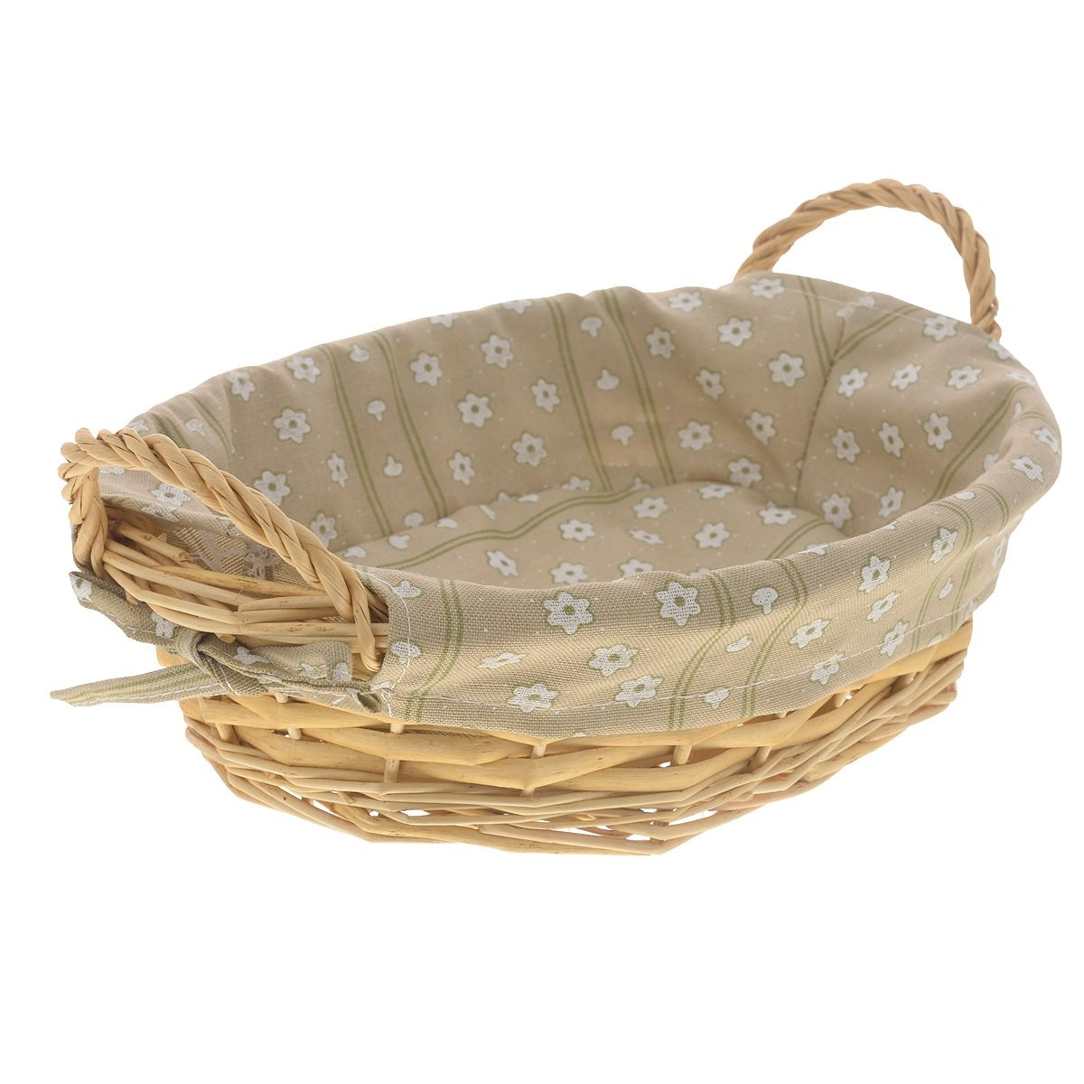 Корзинка с ручкамиКорзина плетеная от Kesper - отличный помощник. Она предназначена для хранения хлеба, фруктов или каких-либо полезных домашних мелочей. Благодаря ручкам, корзину легко и удобно переносить.<br>