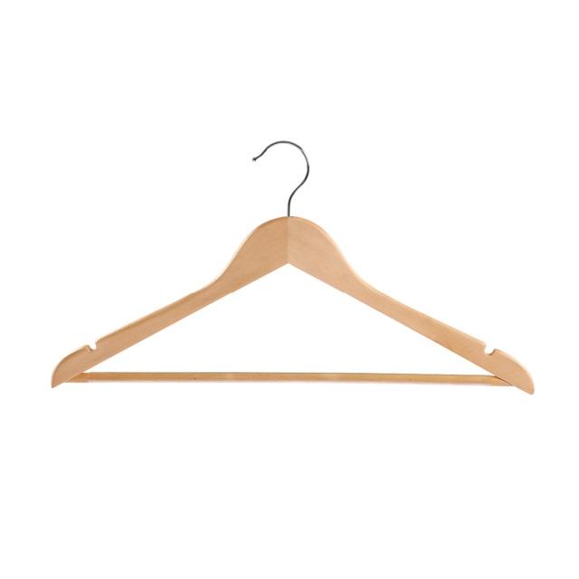 Вешалка деревянная для одежды Yikai