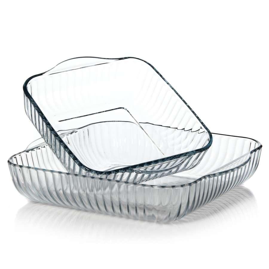 Набор форм д/запекания 2прНабор посуды для СВЧ 2 пр. 2л, 3,5 л<br>