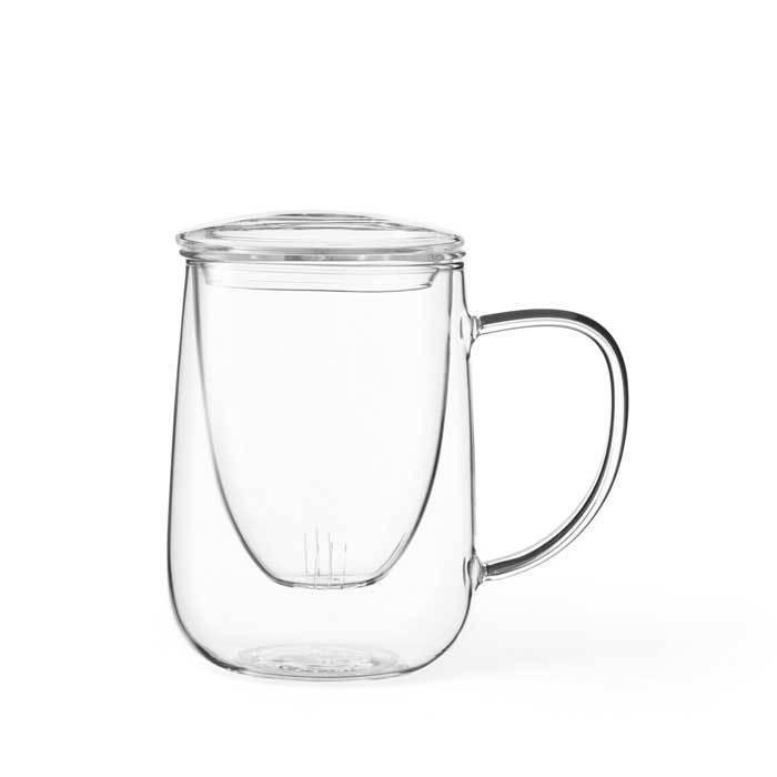 Кружка чайная с ситечком 0,5л Cutea