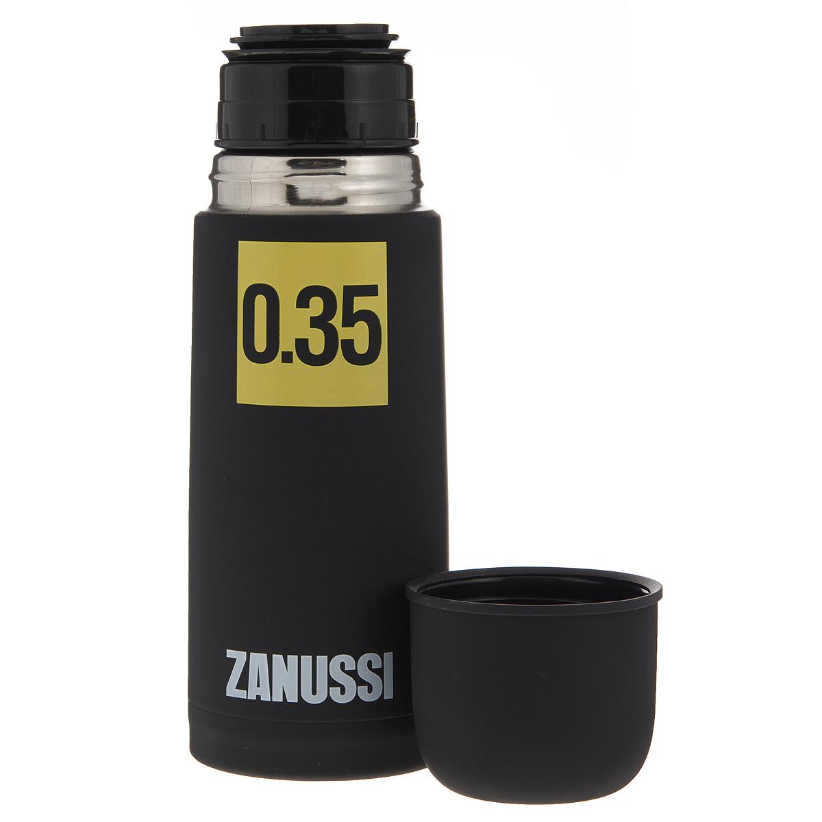 Термос 350 мл Zanussi черный