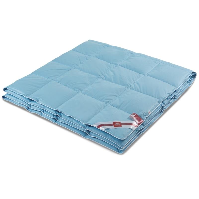 Пуховое одеяло 205 х 172 см Kariguz лазурный