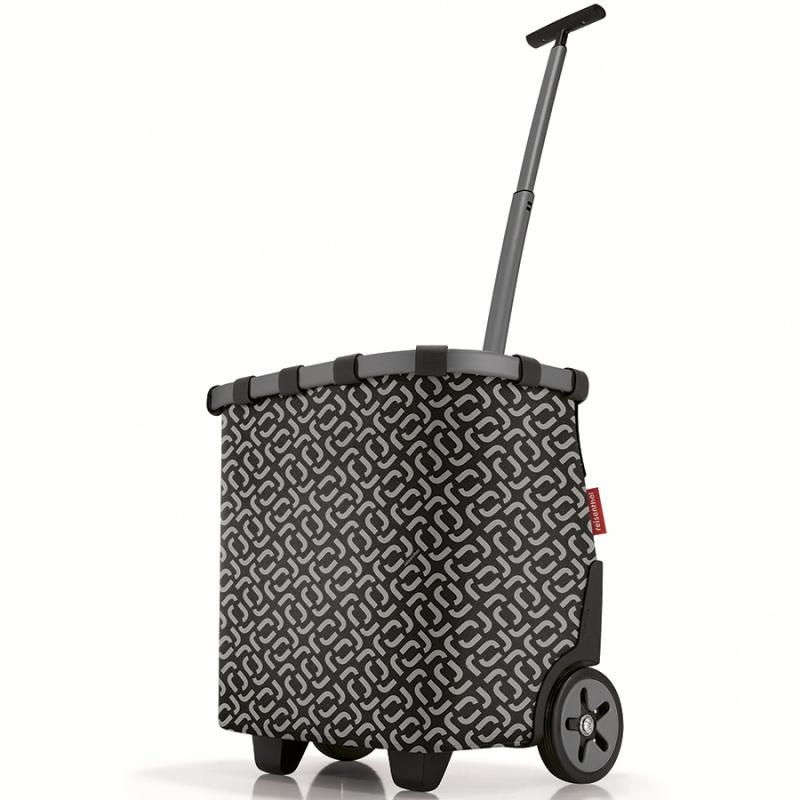 Сумка-тележка Reisenthel Carrycruiser signature black