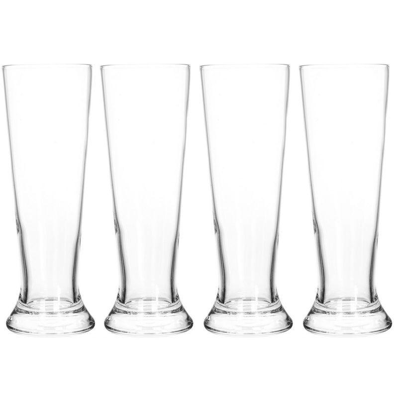 Набор стаканов для пива 4 шт 370 мл