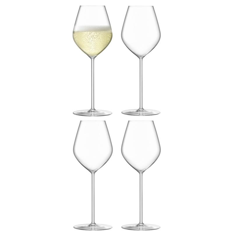 Набор бокалов для шампанского 4 шт. 285 мл LSA International Borough