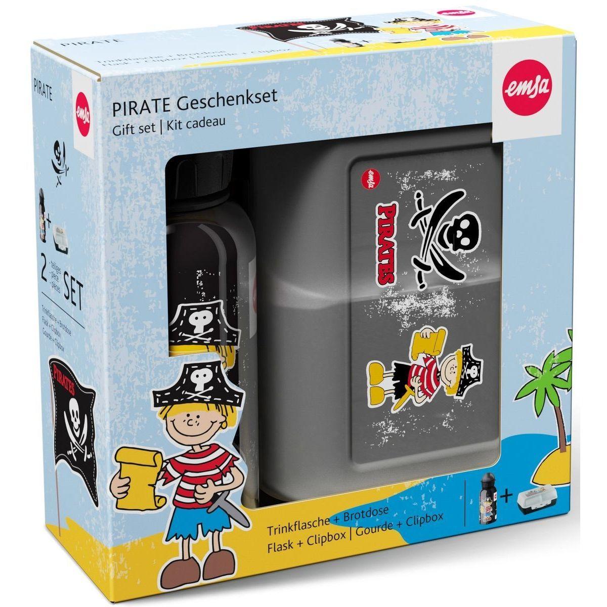Набор из 2-х предметов (фляжка + Ланч-бокс) PIRAT KIDS pirat 851 проводник 2