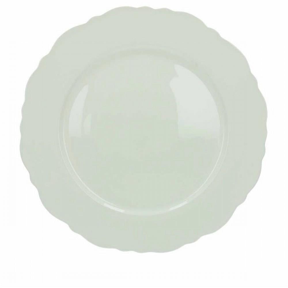Тарелка подстановочная BUTTERFLYТарелка подстановочная не всегда имеется в домашней коллекции посуды, но фирма Tognana придала этому элементу особый оригинальный и лаконичный дизайн, что никого не сможет оставить равнодушным. Выделитесь среди друзей, дополнив ваш стол такой тарелкой.<br>