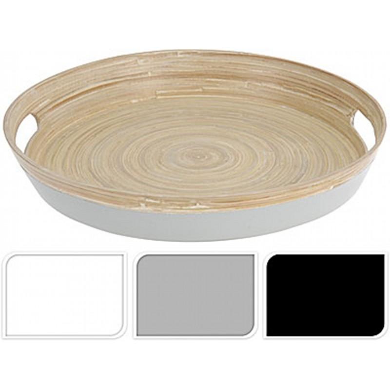ПодносExcellent Houseware производит посуду и различные предметы для кухни и дома. Поднос - это замечательный аксессуар, поскольку с ним удобно переносить и подавать одновременно несколько блюд с едой, не уронив и не опрокинув их при этом.  Внимание! Выбрать цвет заранее не представляется возможным.<br>