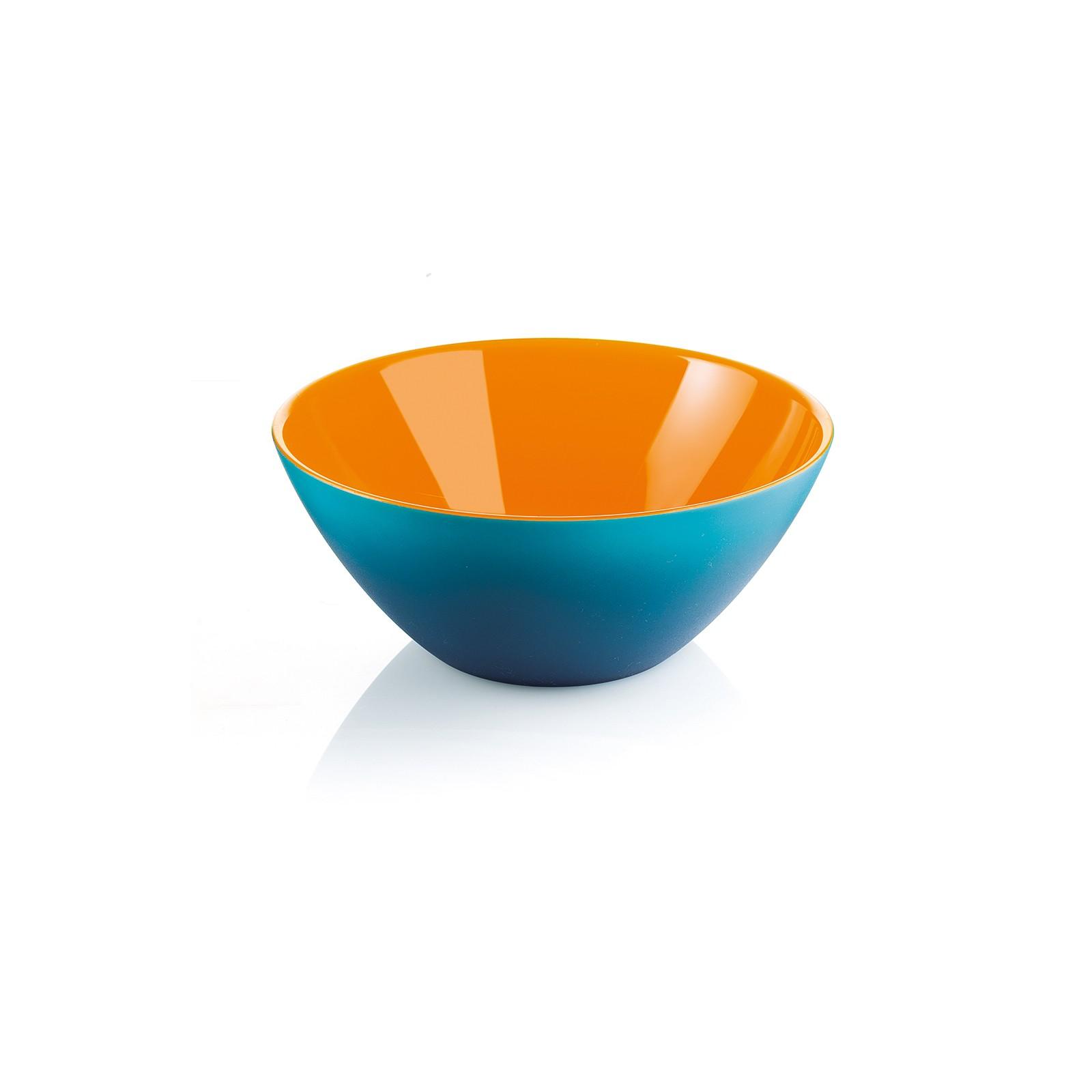 Салатница MY FUSIONКомпания Guzzini основана в 1912 году. Она создает пластиковую посуду и аксессуары. Салатница имеет красивую форму и необычный дизайн, она украсит застолье, а также позволит красиво сервировать салаты. Удобная и неприхотлива в уходе.<br>
