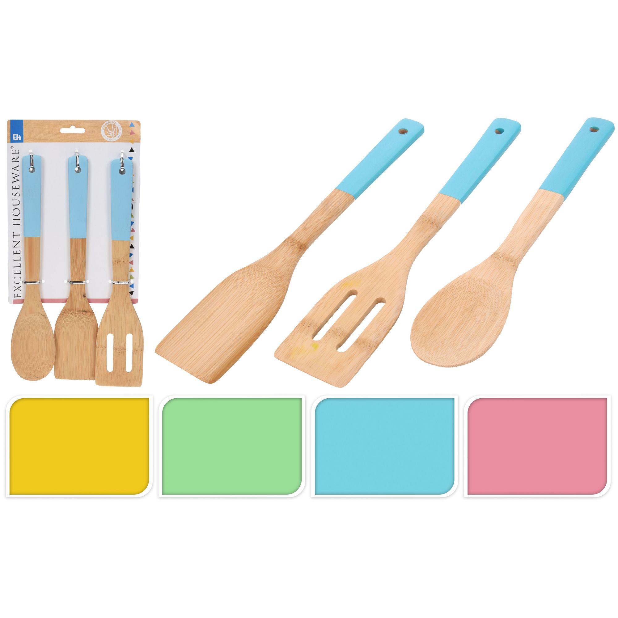 Набор кухонный 1 ложка, 2 лопатки<br>