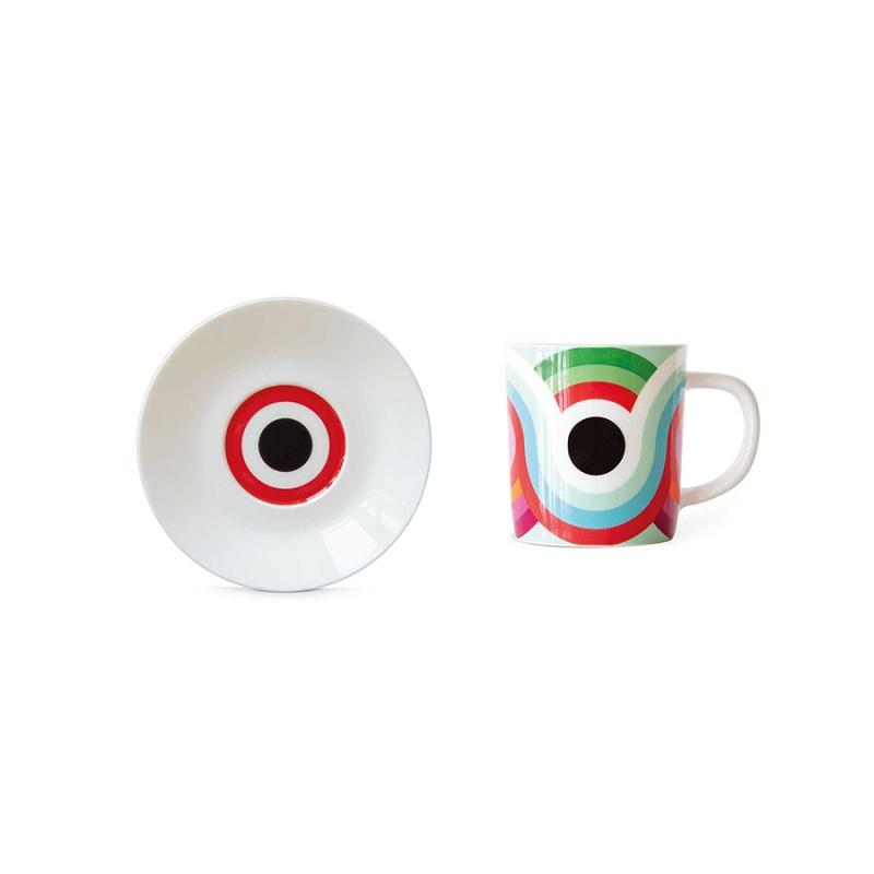 Чашка для эспрессо с блюдцем Remember Faro