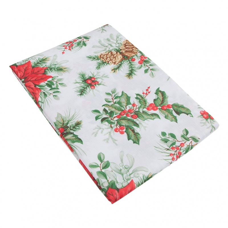 Скатерть Новогодняя на стол Хэппи-5 140 х 240 см Grand Textil