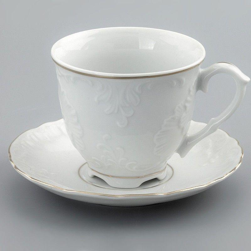 Набор пар чайных 6 шт 250 мл Rococo