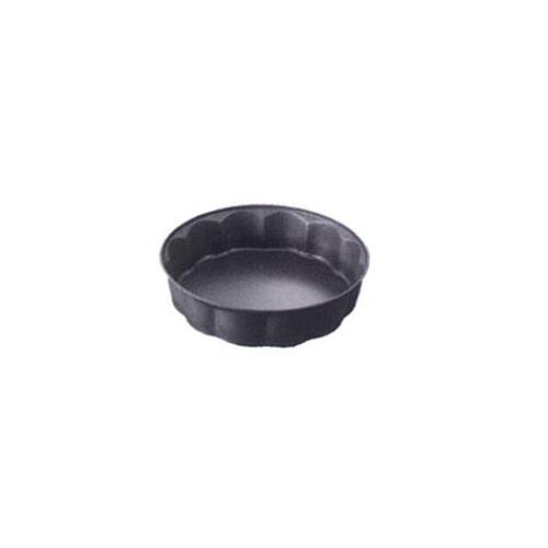 Форма фигурная для пирога PATISSERIEФорма PATISSERIE от Ballarini - блюдо для запекания в духовом шкафу пирогов, запеканок и других кулинарных блюд. Модель имеет круглую форму, высокие стенки и рифлёный край. Металлическая форма выполнена из литого алюминия, поэтому выдерживает перепады температуры, устойчив к ударам. Посуда равномерно прогревается и хорошо удерживает тепло. Итальянская компания Ballarini выпускает качественную посуду с антипригарным покрытием из литого алюминия или меди для приготовления пищи: сковородки, формы для выпечки, сотейники, которые выполнены в утончённом и сдержанном современном стиле, поэтому готовить в такой посуде одно удовольствие. Диаметр: 26 см.<br>