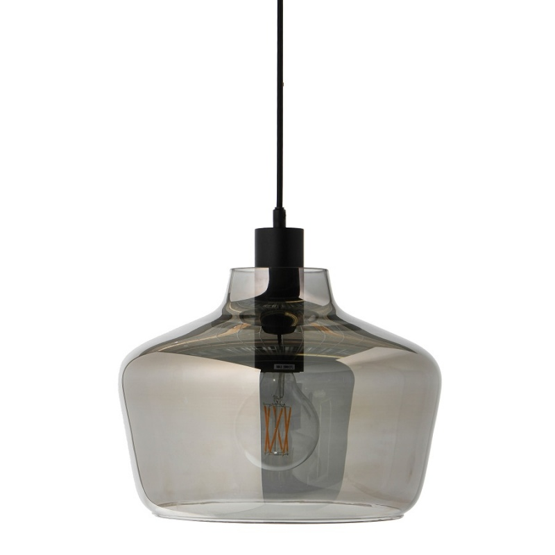Лампа подвесная Frandsen Kyoto серый
