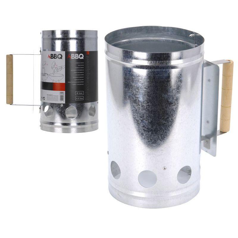 Стартер д/розжига угля d16 h27,5 смстартер для розжига угля диам 16см, выс. 27,5см<br>