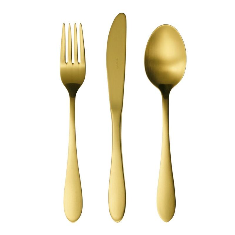 Набор столовых приборов 24 предмета Herdmar Atlanta Old Gold