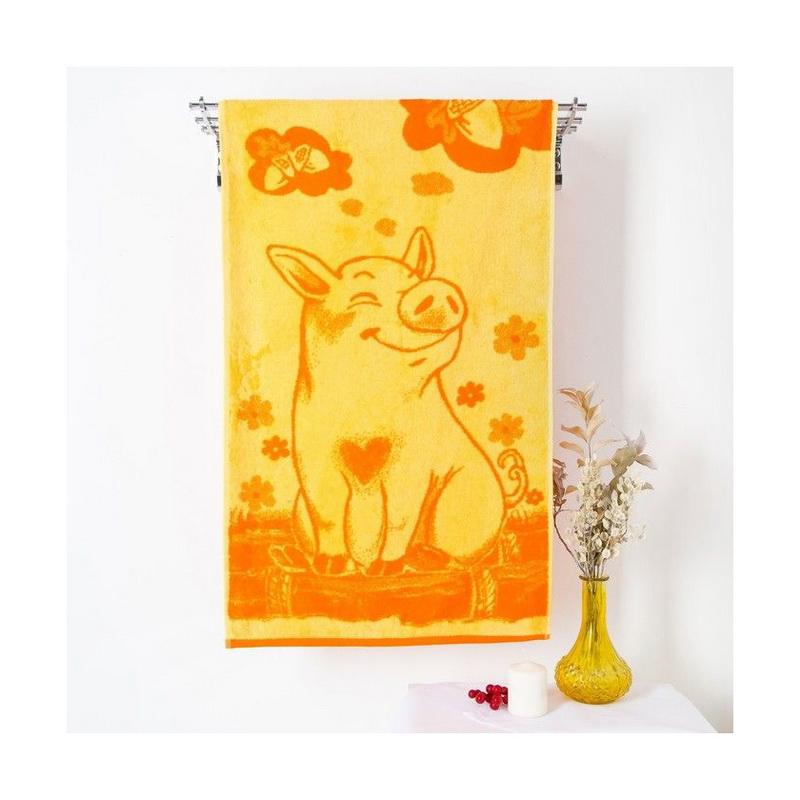 Полотенце махровое Lucky Pig 50x90 см
