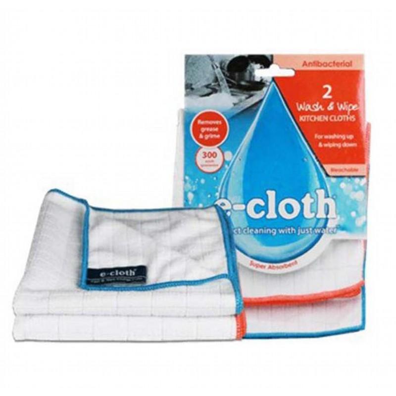 Салфетки антибактериальные для уборкиE-Cloth - британская компания, производящая чистящие средства без использования химических препаратов. Антибактериальная салфетка прекрасно подходит для уборки кухонных поверхностей, мытья посуды, а также протирания детских игрушек.<br>