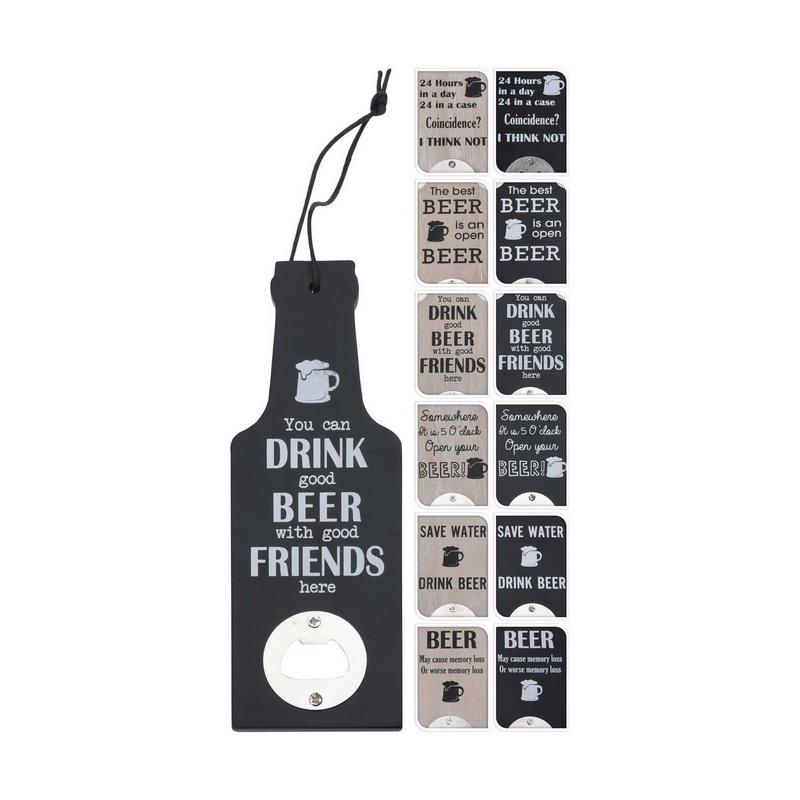 Открывалка для бутылок в форме бутылки Excellent Houseware