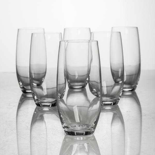 Набор стаканов д/воды 6 шт 470 мл Полло