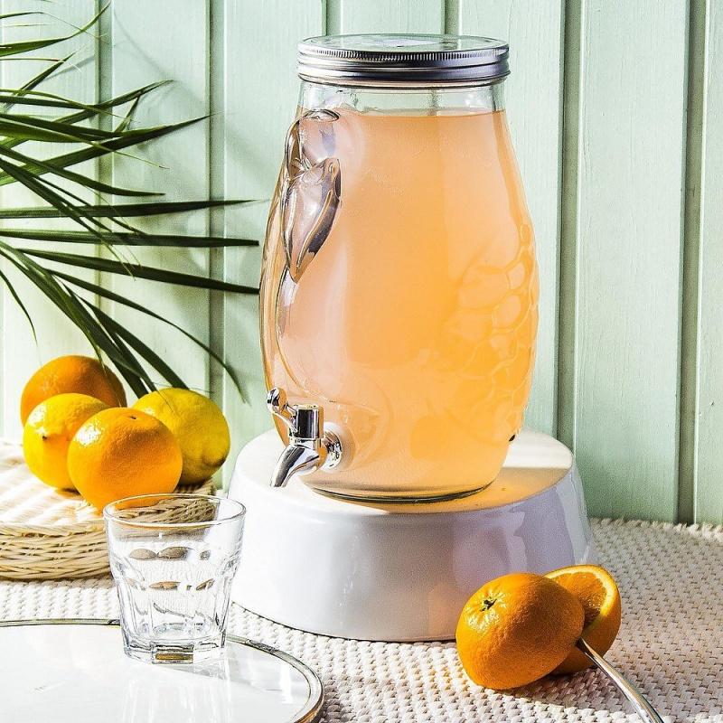 Банка для лимонада 4 л Excellent Houseware