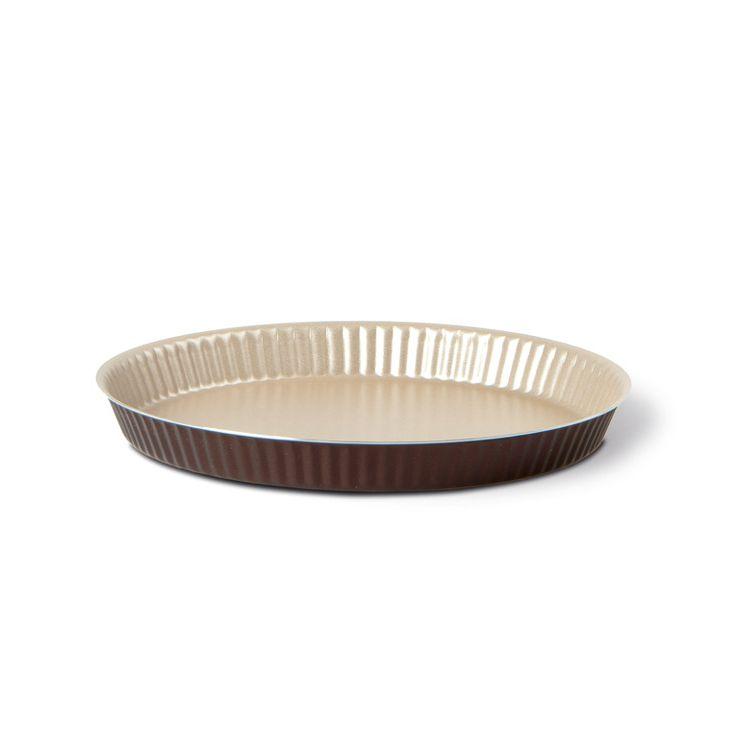 Форма для торта с низким бортом 24 см Dolci IdeeВнутреннее антипригарное покрытие цвета «шампань»Алюминий пригодный для приготовления пищи: устойчивый к ржавчине, можно мыть в посудомоечной машинеНе содержит ПФОА, свинец и кадмий<br>