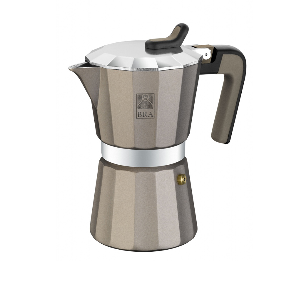 Кофеварка гейзерная на 6 чашек TITANIUMКофеварка TITANIUM от Pintinox поможет вам приготовить незабываемый кофе. Вы, все ваши домочадцы и гости останутся довольны вкусом кофе.<br>