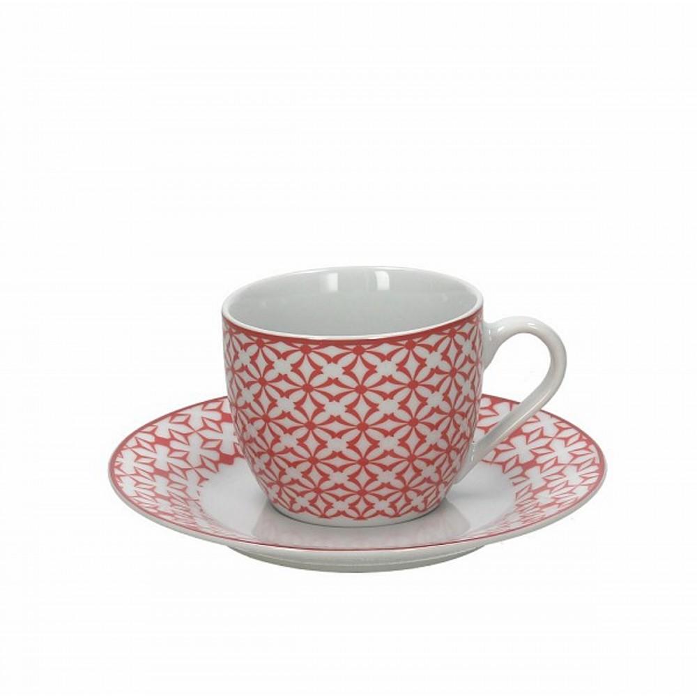 Набор чашек с блюдцами чайные KUBIK ROЧашка с блюдцем сделана из высококачественного фарфора. Благодаря ее оригинальному дизайну, она станет отличным подарком на любой праздник вашим друзья или близким. Коллекционеры посуды и настоящие ценители по достоинству оценят этот набор. Набор рассчитан на 6 персон.<br>