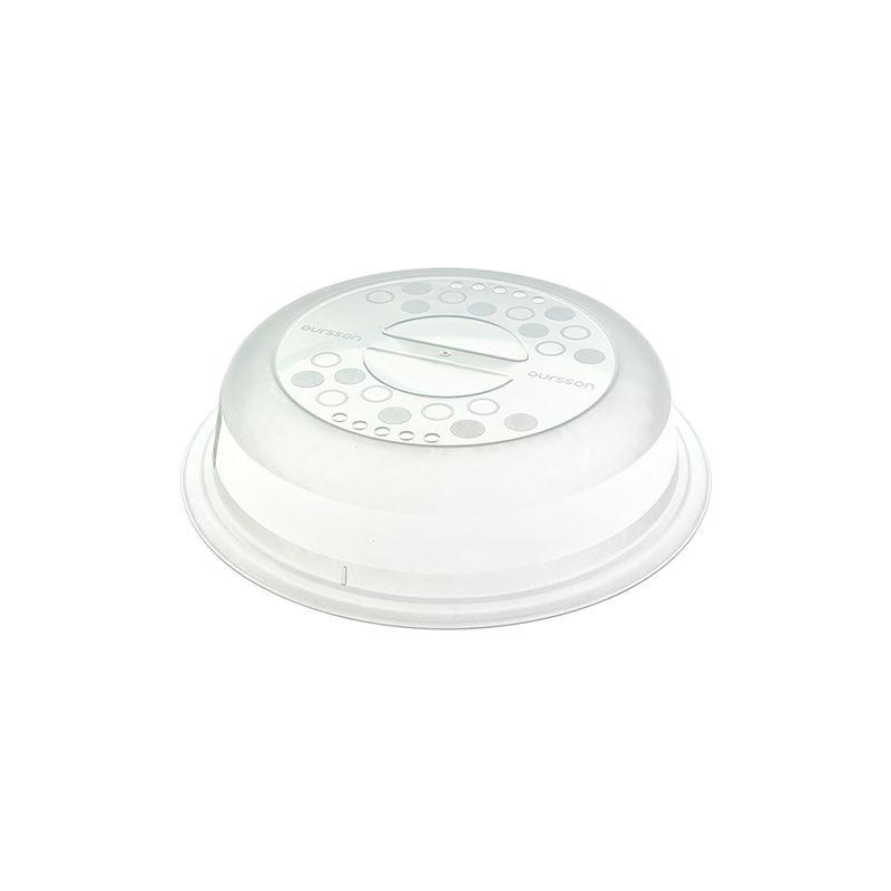 Крышка пластиковая для СВЧ 24 смПластиковая крышка для СВЧ и холодильника диаметром 24 см<br>
