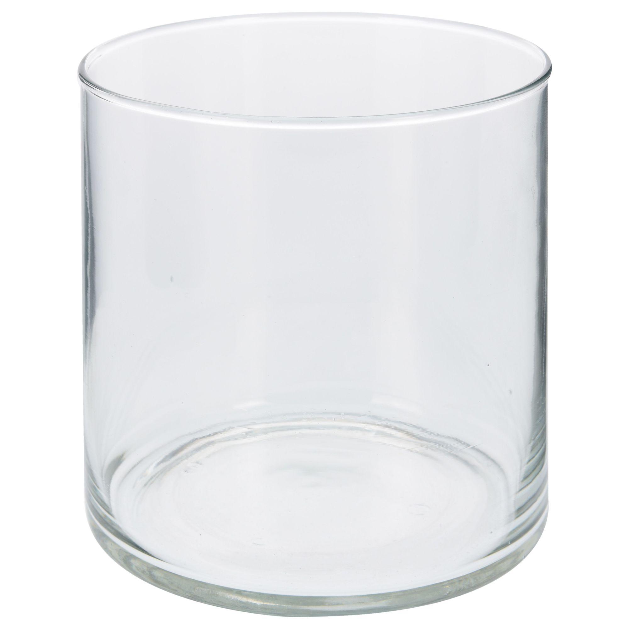 Ваза 15 см интерьерная стекло<br>