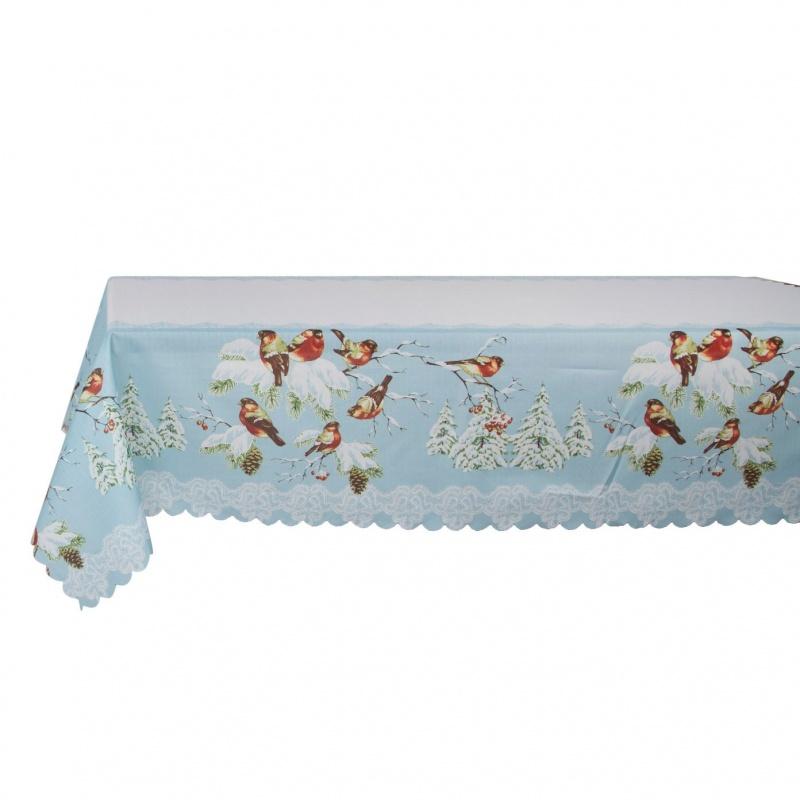 Скатерть Новогодняя на стол Хэппи-15 140 х 240 см Grand Textil