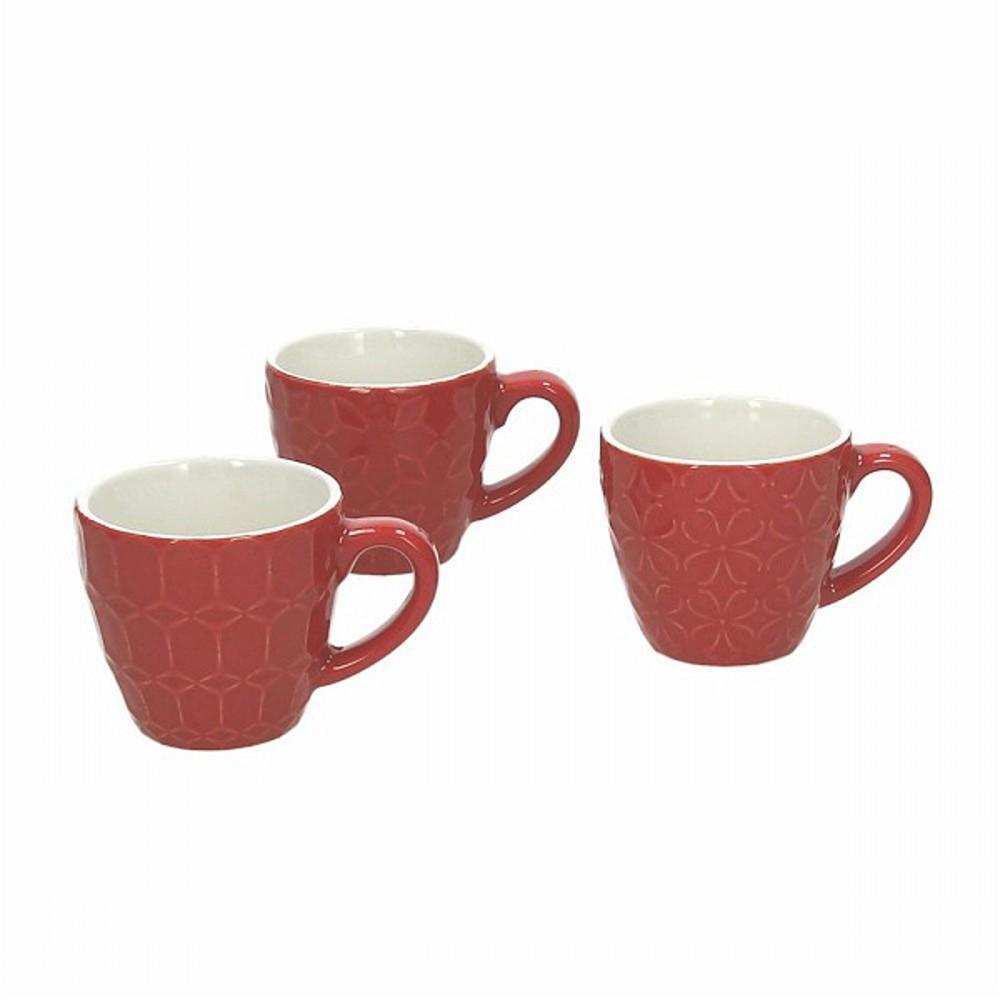 Чашка кофейная 90 мл RELIEF KUB ROКружка сделана из керамики выского качества. Итальянские производители позаботились не только о качестве изделия, но и о дизайне. Оригинальный дизайн и лаконичная форма позволит этому элементу посуды отлично вписаться в любой ваш кухонный интерьер.<br>