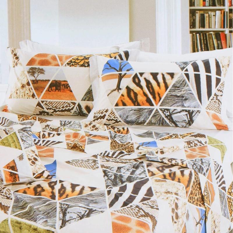 Комплект постельного белья Cogal Golden Age евро сафари
