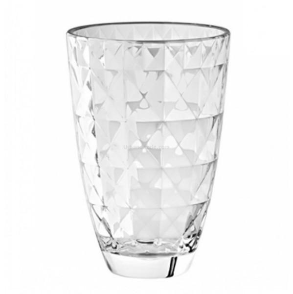 Ваза CARRE 24 смОригинальная ваза итальянского  производителя Vidivi сделана из высококачественного стекла. Необычный дизайн и форма украсят любой интерьер. Она станет отличным подарком.<br>