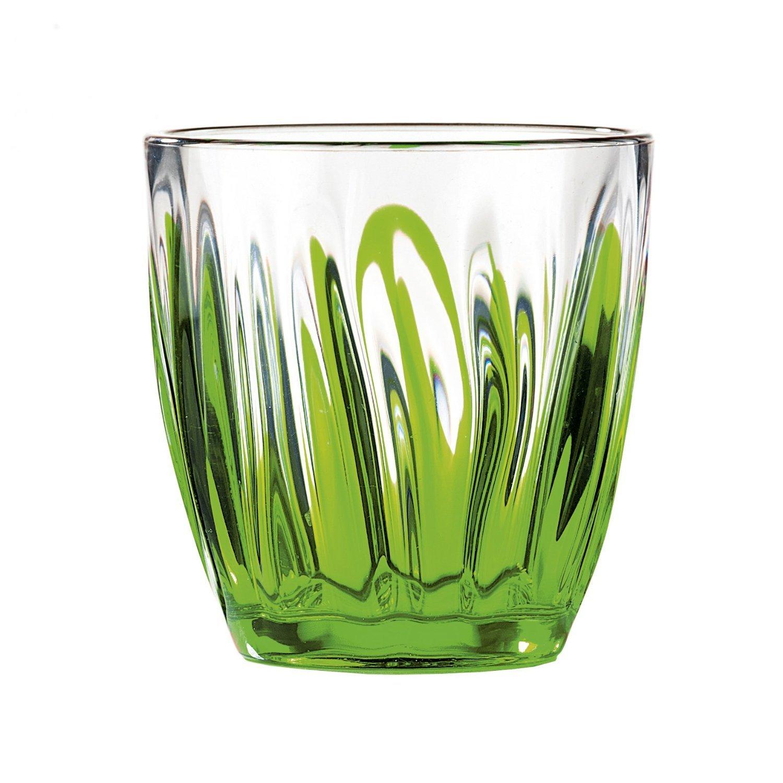 Стакан для напитков Iris 350 мл.Стакан изготовлен из высокопрочного пластика. Его прозрачность позволяет видеть содержимое стакана. Материал не боится царапин, поэтому он вам прослужит долгое время. А его оригинальная форма отлично украсит любую вашу вечеринку.<br>
